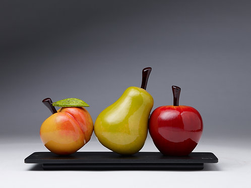 "Gonzalez: ""Fruit Trio"""