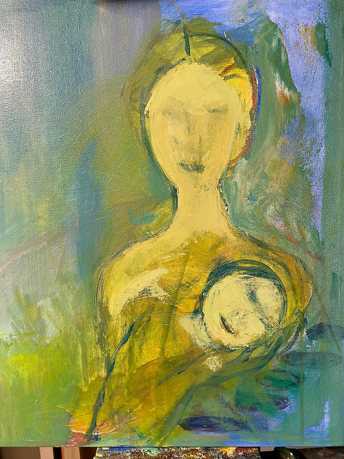 """de Neve: """"Mother and Child"""""""