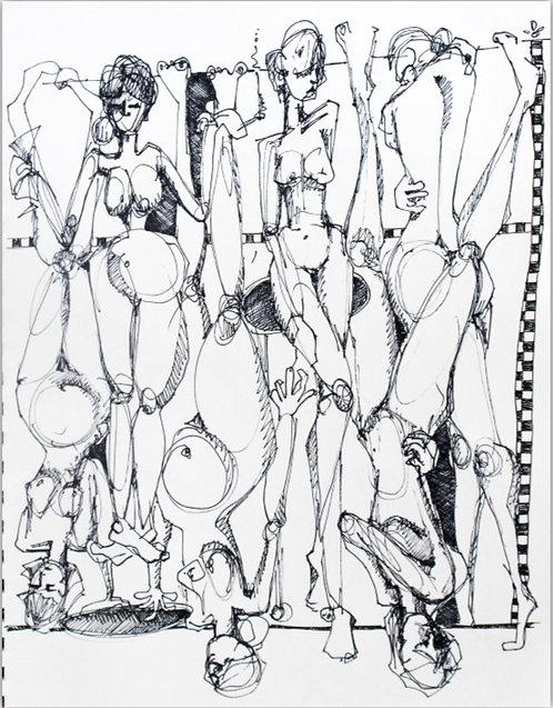 Parlour Sketch