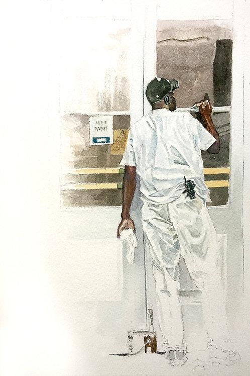 "Perez: ""Painting His Life Away"""