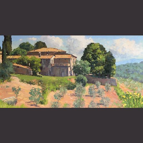 "Murphy, Brian: ""Tuscan Farm"""