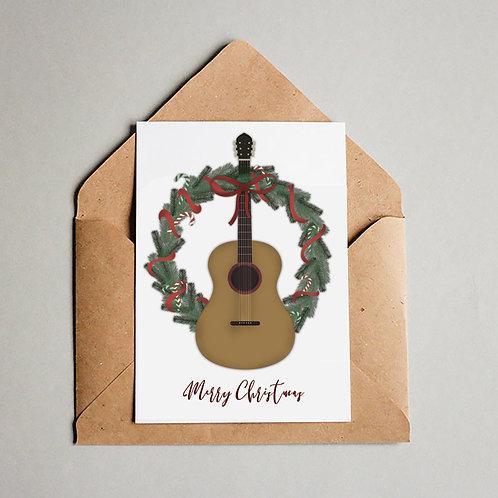 8 pk- Guitar Wreath