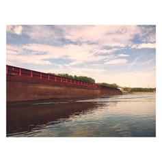 Cumberland River Barge