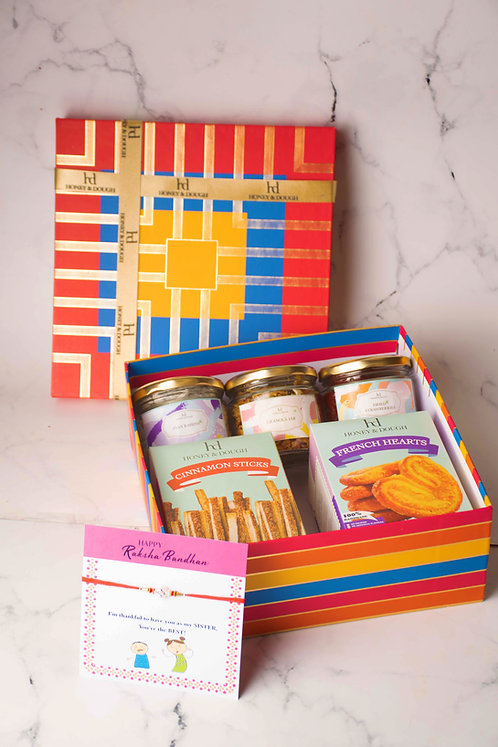 Stripes Large Box