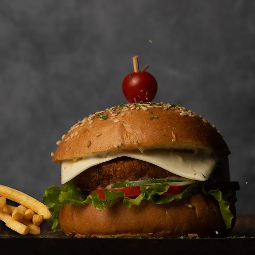 Crispy Veggie Burger