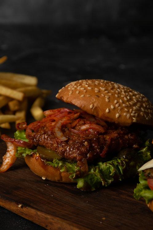 Barbeque Chicken Burger