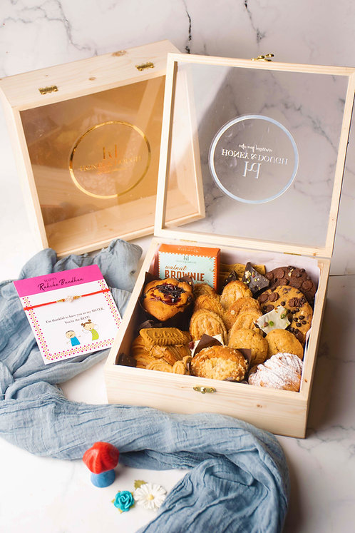Wooden Dessert Grazing Box