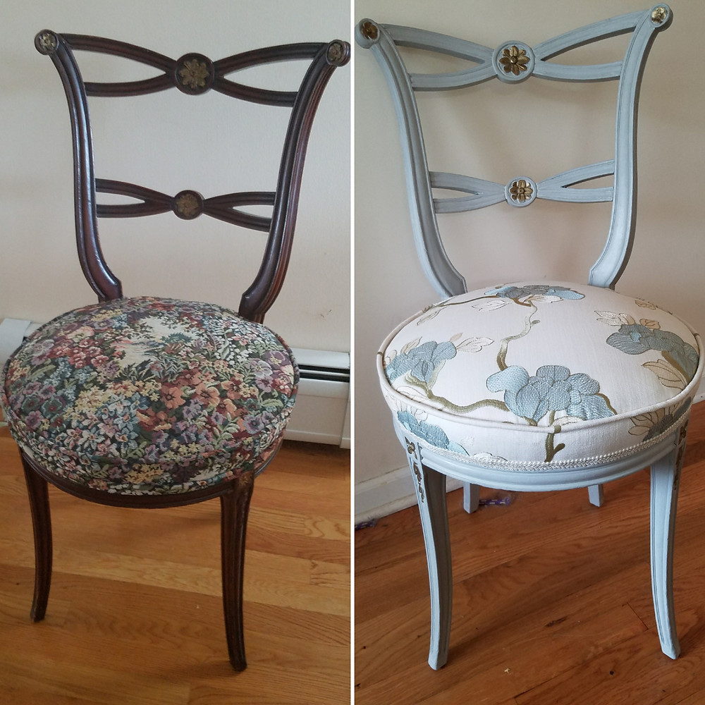 Vintage Chair Transformation