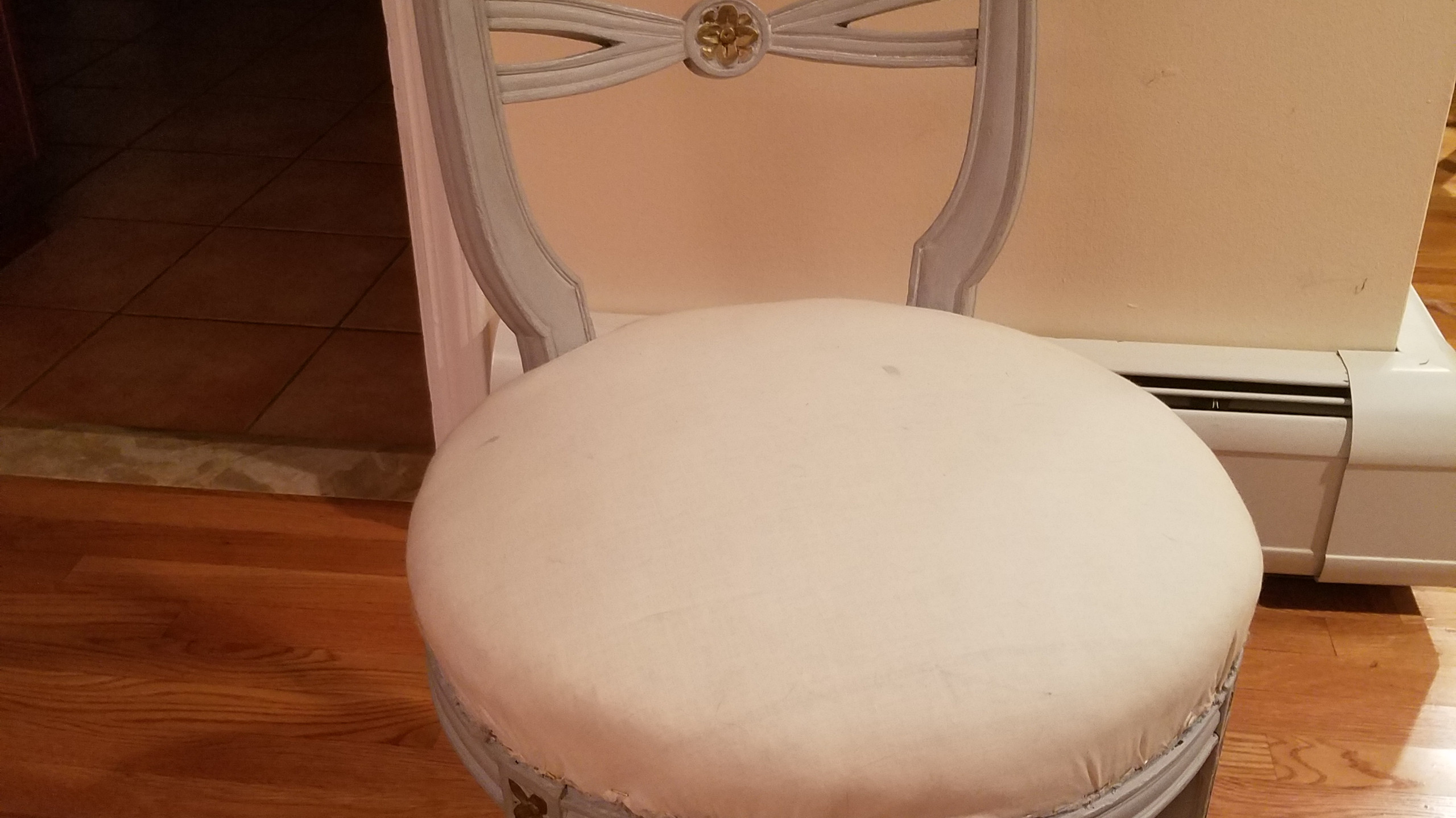Chalk Painted Vintage Chair