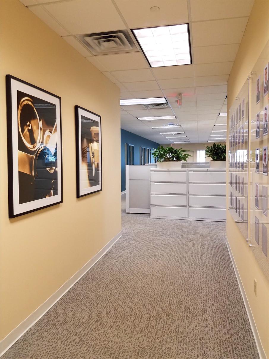 Commercial Office Corridor Art