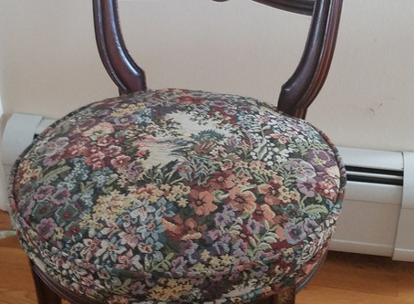 Re-upholstering a Side Chair:  101