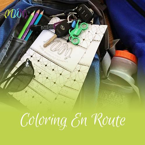 Coloring En Route