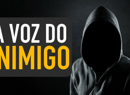 EU PENSAVA QUE O CORONAVÍRUS ERA O INIMIGO, MAS...