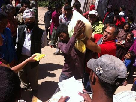 Nepal e o Socorro Humanitário.