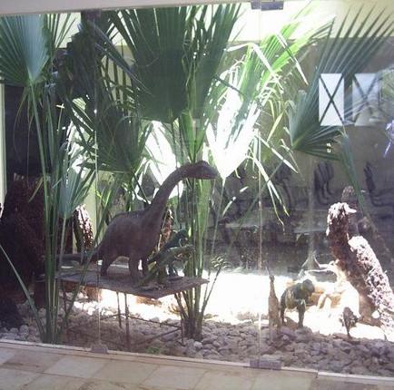 Cidade dos dinossauros no Sertão paraibano