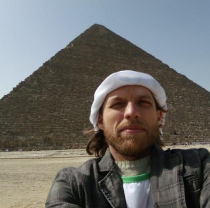 Pirâmides de Guizé no Egito