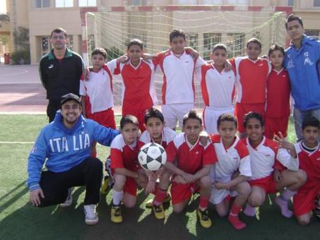 Ame através do futebol no Oriente Médio