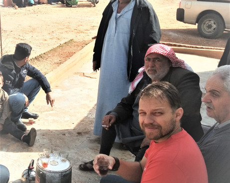 campo de refugiados sírios