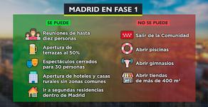 Madrid, en FASE 1