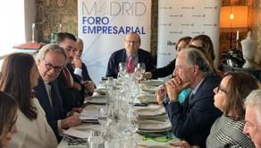 Almuerzo con la Embajadora de Marruecos en España, Karima Benyaich