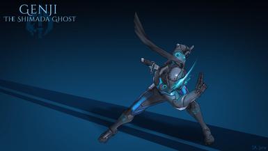 Overwatch - Shimada Ghost