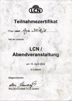 Zertifkat LNC
