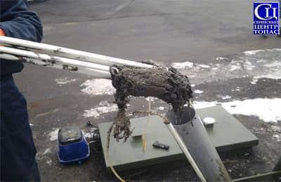 Забиты главные насосы септика топас. Ремонт и сервисное обслуживание.