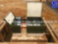 После наращивания горловины ТОПАС 20пр на 400 мм с поднятием компрессорного оборудования.