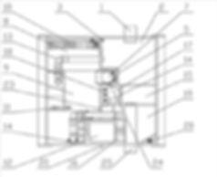 Внутреннее устройство системы глубокой биологической очистки БИОКСИ