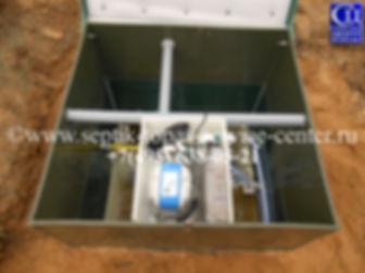 После наращивания горловины ЮНИЛОСАстра - 8 пр на 400 мм с поднятием компрессорного оборудования.