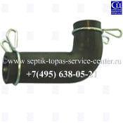 Изогнутый внешний переходник для компрессора Takatsuki HIBLOW HP-150/200