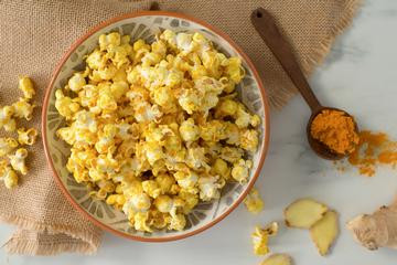Timeless Turmeric Popcorn