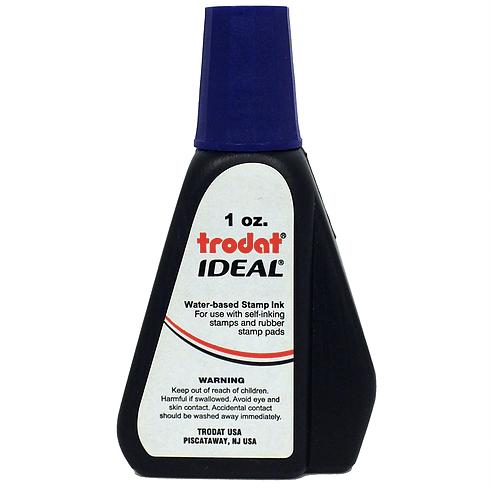 Trodat/Ideal Refill Ink 1 oz, Purple