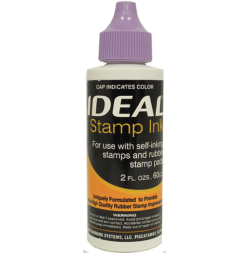 Trodat/Ideal Refill Ink 2 oz, Purple