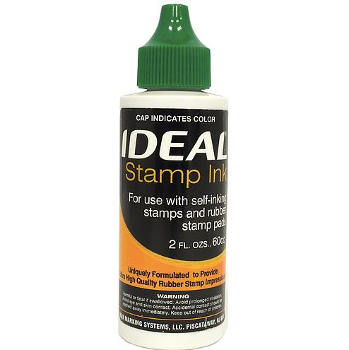 Trodat/Ideal Refill Ink 2 oz, Green