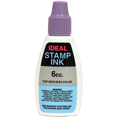 Ideal Refill Ink 6cc, Purple