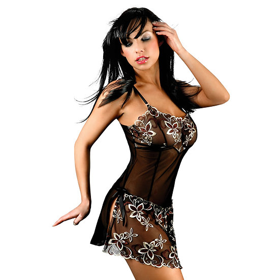 Corsetti Hera Babydoll With Floral Detail