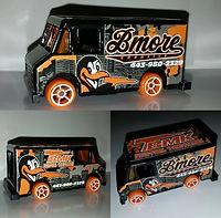Custom Hot Wheels Van