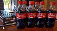 Custom Coke Bottle Labels