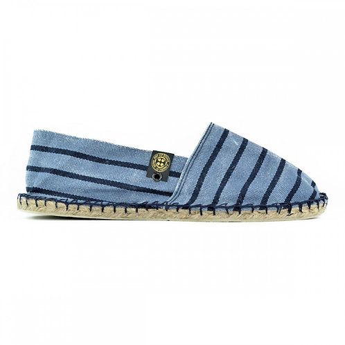STRIPED FADED BLUE 【Z034】
