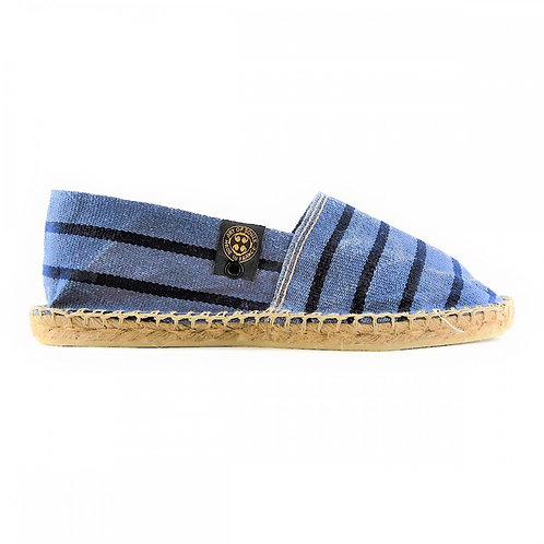 【AOSB034】STRIPED FADED BLUE