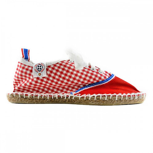 TRICOLORE BIARRITZ GINGHAM RED 【T038】