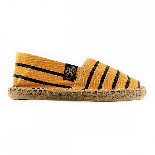 【AOSB030】STRIPED FADED YELLOW