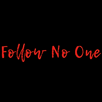 Follow No One Logo