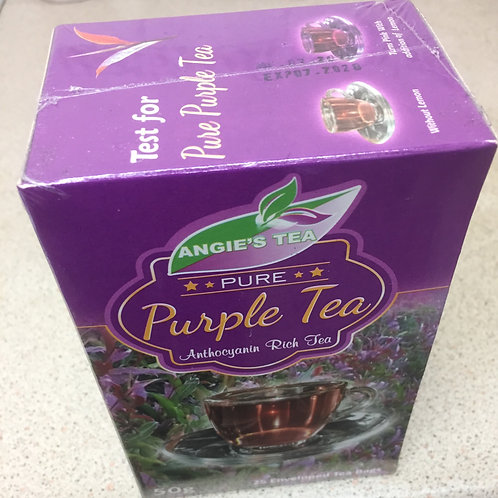 25 Angie's Kenya Purple Tea bags