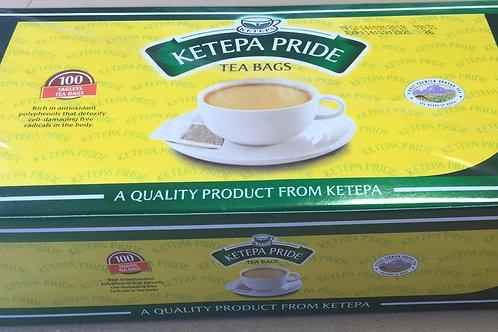 100 Ketepa Pride Standard Tagless Tea Bags