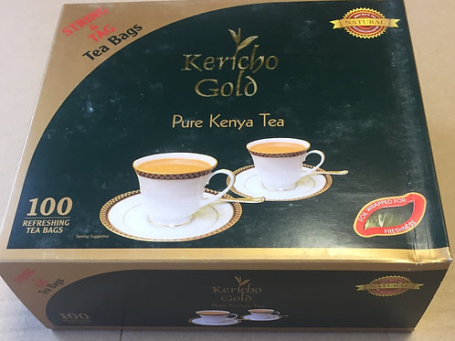 100 Kericho Gold String & Tag Tea bags