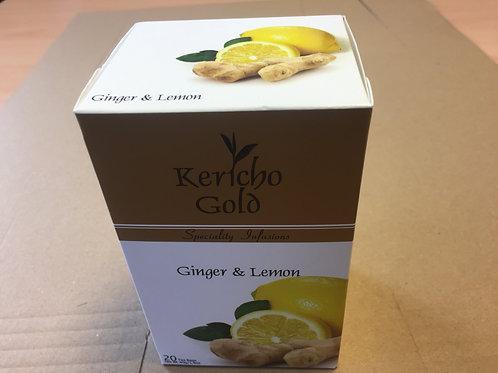 20 Kericho Gold Ginger & Lemon Tea bags