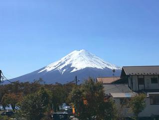 富士山の冬化粧
