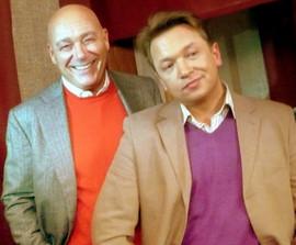 с Владимиром Познером